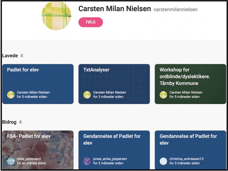 Carsten Milan Nielsens samling af hjælpemidler til ordblinde