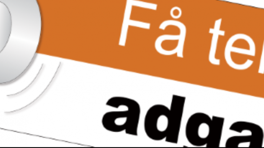 Adgang for alle - logo