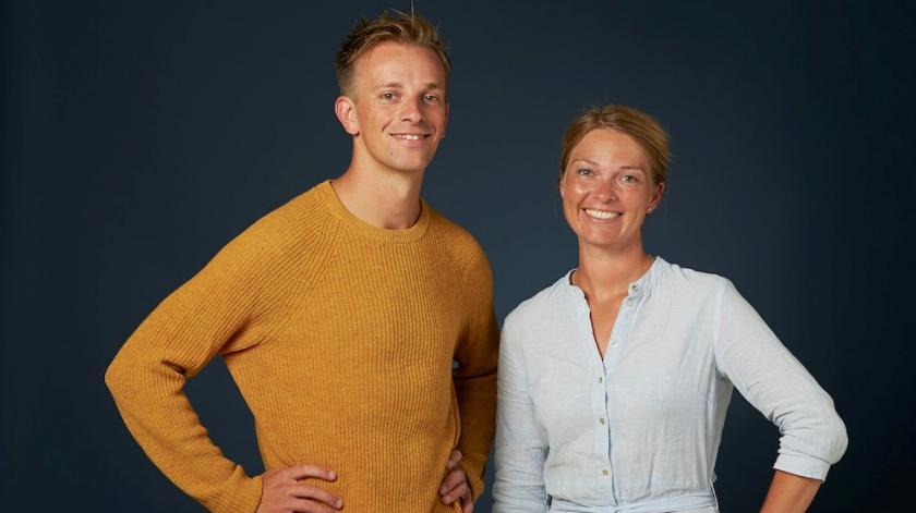 Skaberne af Hero Joachim Bingel og Mie Bøgh Arildsen.