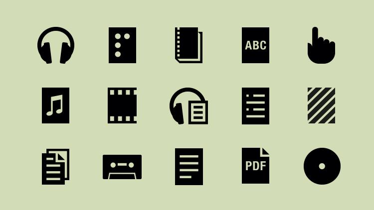 Image of Open Icon set