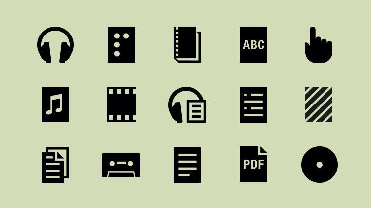 Image of Open Icon set