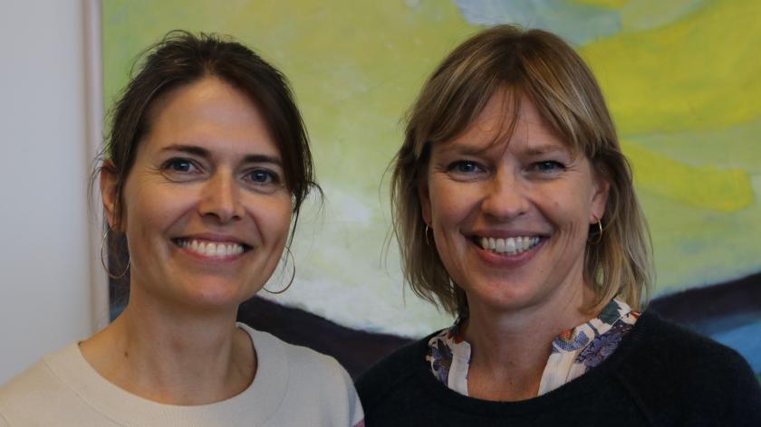 Line Degn og Mette Søndergaard