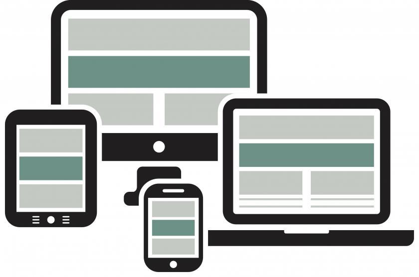 visuel fremstilling af diverse teknologiske devices