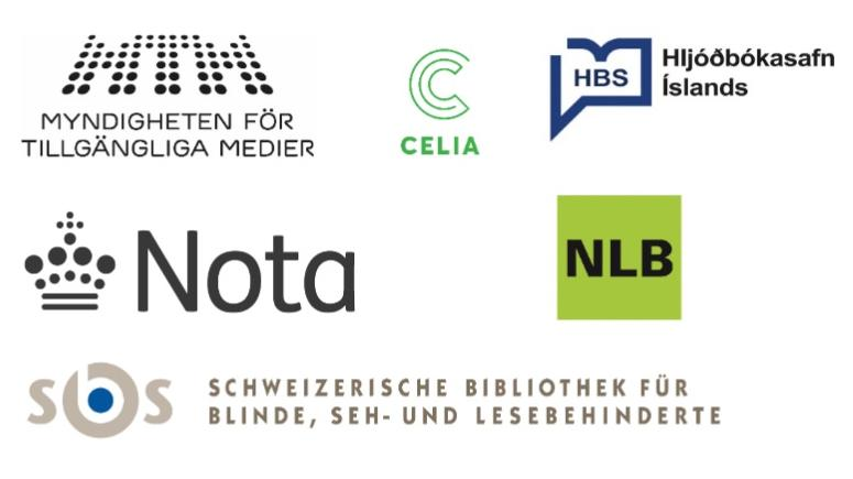 Alle logoerne for de organisationer, der deltager i samarbejdet.