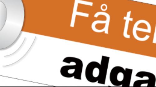 Logo fra Adgang for alle hjemmeside