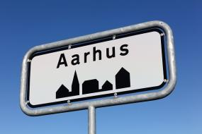 Byskilt for Aarhus
