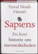 Forside fra bogen Sapiens